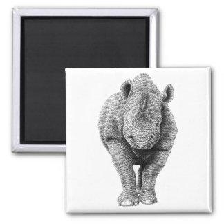 Black Rhino Magnet