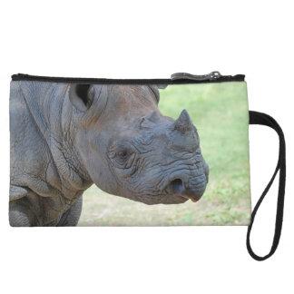 Black Rhino Wristlet Clutches