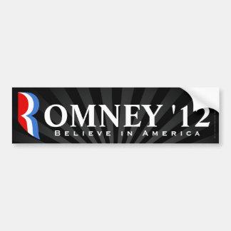 Black Romney 2012, Believe in America Decal
