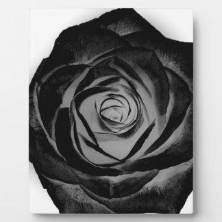 Black Rose 20171027 Plaque
