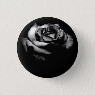 black_rose, AW 1 Inch Round Button