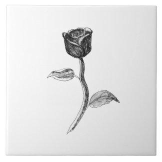 Black Rose. Ceramic Tiles