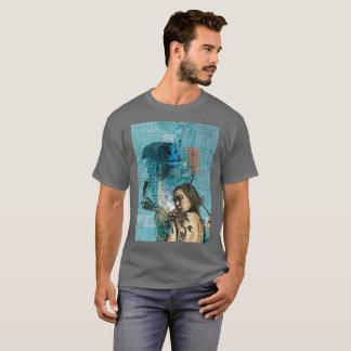 Black Rose Contemporary Design Inspired T-shirt