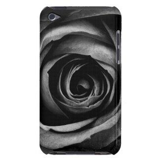 Black Rose Flower Floral Decorative Vintage iPod Touch Case-Mate Case