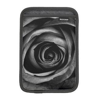 Black Rose Flower Floral Decorative Vintage Sleeve For iPad Mini