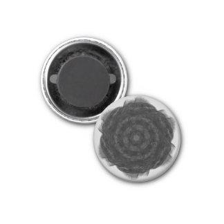 Black Rose Fridge Magnet