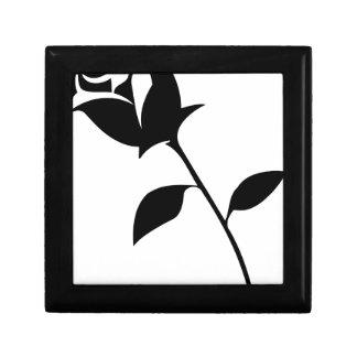 Black Rose Gift Box