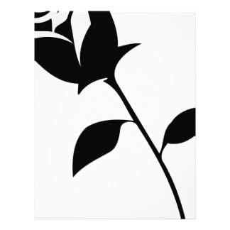 Black Rose Letterhead