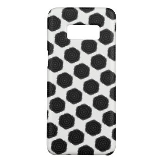Black Rose Tile Phone Case