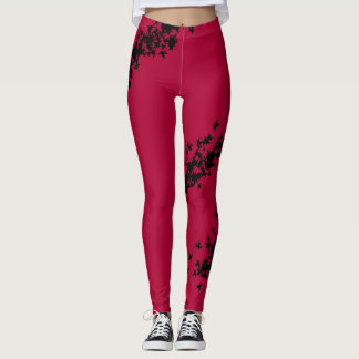 Black Roses by wonderland Leggings