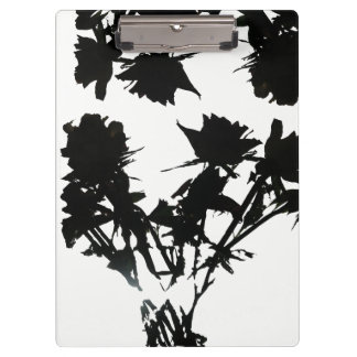 Black Roses Clipboard