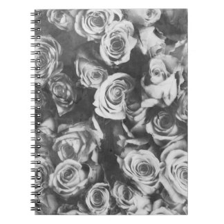 Black roses notebook