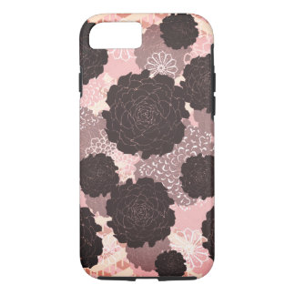 Black Roses Pink Phone Case