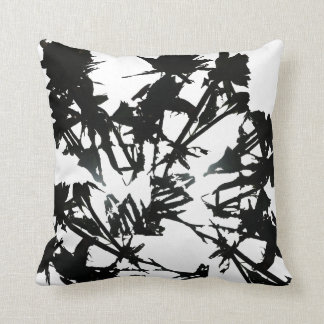 Black Roses Throw Pillow