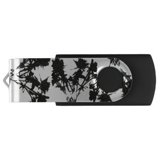 Black Roses USB Flash Drive