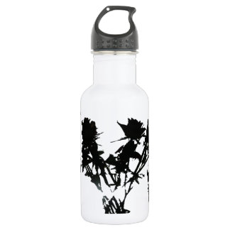 Black Roses Water Bottle