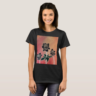 Black roses( Women's T-Shirt) T-Shirt
