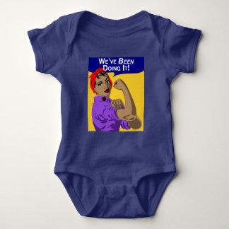 Black Rosie-We've Been Doing It - Baby Romper
