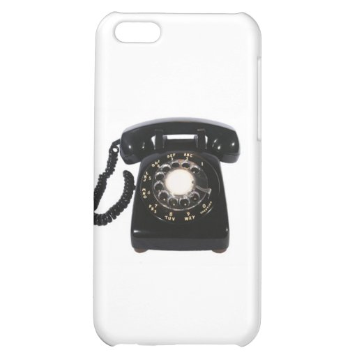 BLACK ROTARY PHONE iPhone Case Case For iPhone 5C