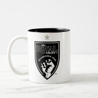 Black Royal Army Logo / SLTID on Black Mug