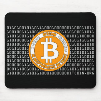 Black rug Bitcoin - M1 Mouse Pad