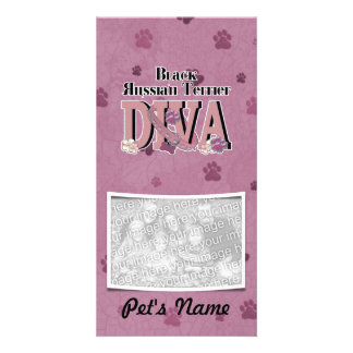 Black Russian Terrier DIVA Picture Card