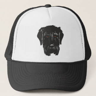 Black_Russian_Terrier_ Trucker Hat