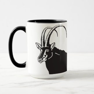 Black Sable, Symbol of Angola Mug