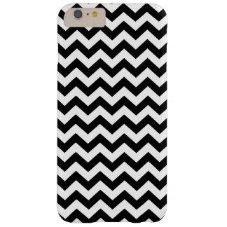 Black Safari Chevron Barely There iPhone 6 Plus Case