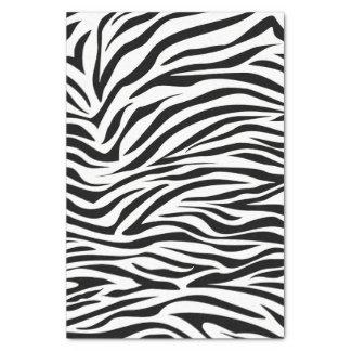 Black Safari Zebra Tissue Paper
