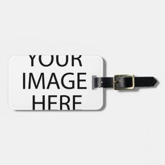 Black Sailor Princess Luggage Tag