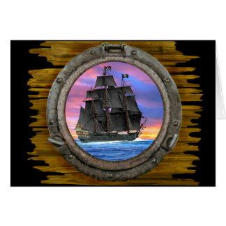 Black Sails of the 7 Seas Card