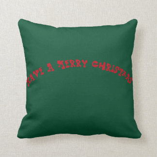 Black Santa Claus Throw Pillow