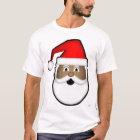 Black Santa Head T-Shirt