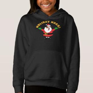 Black Santa Hugs Shirt