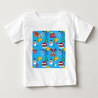 black santa taco christmas baby T-Shirt