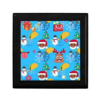 black santa taco christmas gift box