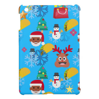 black santa taco christmas iPad mini covers