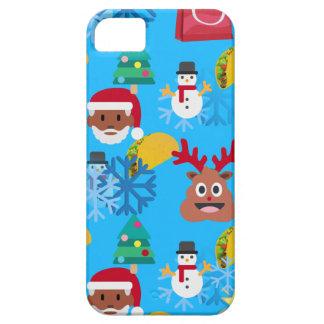 black santa taco christmas iPhone 5 cases
