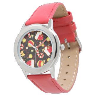 Black - Santa's cap Watch