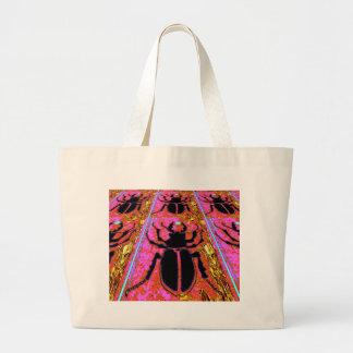 Black Scarab Bug Nature Gifts by Sharles Bag