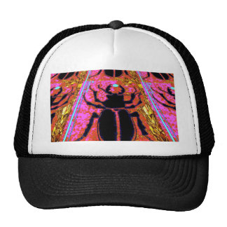 Black Scarab Bug Nature Gifts by Sharles Trucker Hats