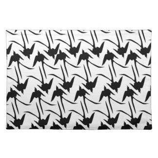 Black Scissor-Tailed Flycatchers Placemat