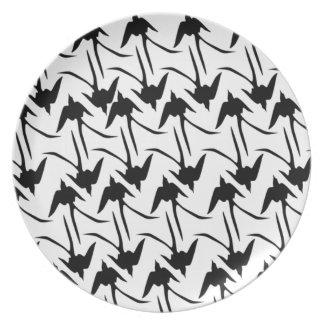 Black Scissor-Tailed Flycatchers Plate