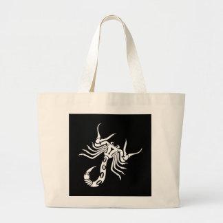 Black Scorpion Jumbo Tote Bag