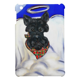 Black Scottish Terrier Angel Case For The iPad Mini