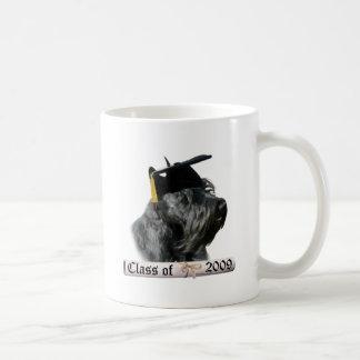 Black Scottish Terrier Grad 09 Coffee Mug