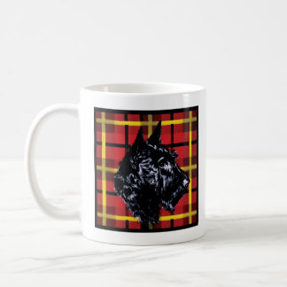 Black Scottish Terrier mug