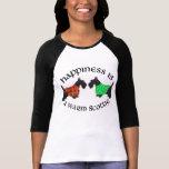 Black Scottish Terriers Happiness Tee Shirt