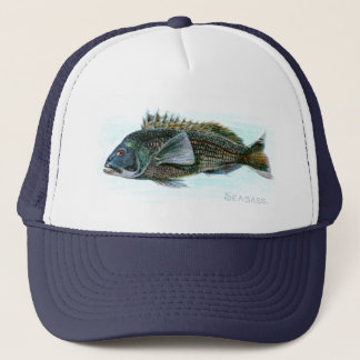 Black Sea Bass Trucker Hat